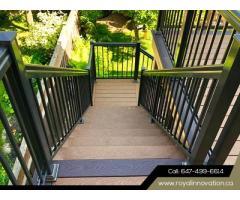 Mordern Stair Railing - Royal Innovation